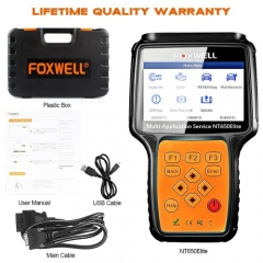 [USUK Ship] Foxwell NT650 Elite All Makes Service Tool with 11 Special Function Updated Version of NT650