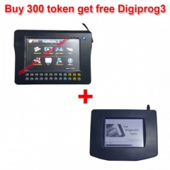 Buy 300 Tokens for Digimaster 3CKM100CKM200 Get Free Digiprog 3 Main unit and OB...