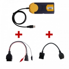 2018.3V Multi-Diag Access J2534 Plus Opel 10Pin To OBD OBD2 16PIN Plus Fiat 3Pin...