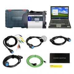 DOIP MB SD C4 Star Diagnosis with 2020.6V 256GB SSD Plus Dell D630 Laptop 4GB Me...
