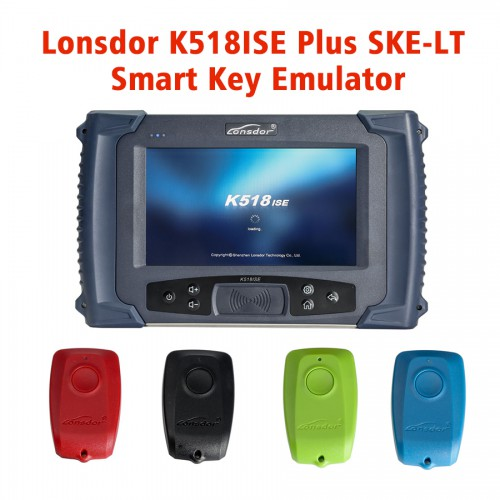 Lonsdor K518ISE Key Programmer Plus SKE-LT Smart Key Emulator 4 in 1