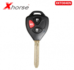 Xhorse XKTO04EN Wire Universal Remote Key for Toyota Style 3 Buttons for VVDI VV...