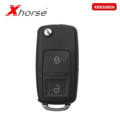 Xhorse XKB508EN Wire Universal Remote Key B5 Style 2 Buttons for VVDI Key Tool