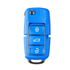 XHORSE VVDI2 For Volkswagen B5 Special Remote Key 3 Buttons in Blue Color 5Pcslo...