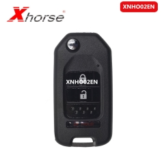 Xhorse VVDI2 XNHO02EN Key Programmer Remote Key for Honda Style Flip 3 Buttons Remotes for VVDI Key Tool 10pcs/lot