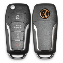 Xhorse VVDI2 XNFO01EN Wireless Universal Remote Key 4 Buttons For Ford