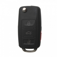 Remote Key Shell (3+1) Button For VW Touareg 5pcslot
