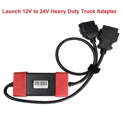 Launch 12V to 24V Heavy Duty Truck Diesel Adapter Cable for X431 Easydiag2.0/3.0...