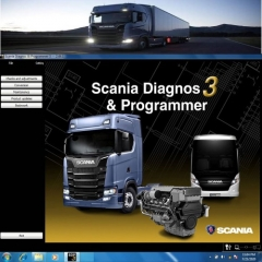 V2.44.1 Scania SDP3 Diagnosis & Programming Software for VCI3 without Dongle