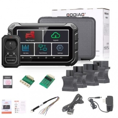 GODIAG GD801 Key Programmer Multi-language Support Mileage Correction ABS EPB TPMS EEPROM etc