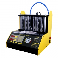 AUTOOL CT200 Ultrasonic Fuel Injector Cleaner & Tester Support 110V/220V with En...